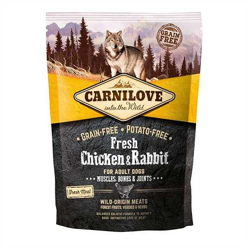 Carnilove Fresh Chicken & Rabbit Adult 1.5kg