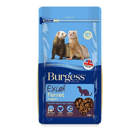 Burgess Excel Ferret Nugget Food 2kg