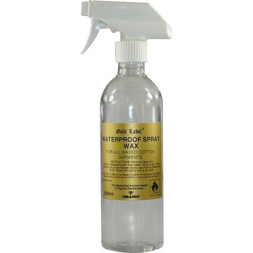 Gold Label Waterproof Spray Wax