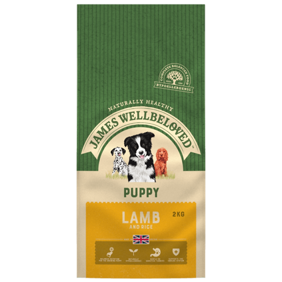 James Wellbeloved Puppy Food Lamb and Rice 2kg