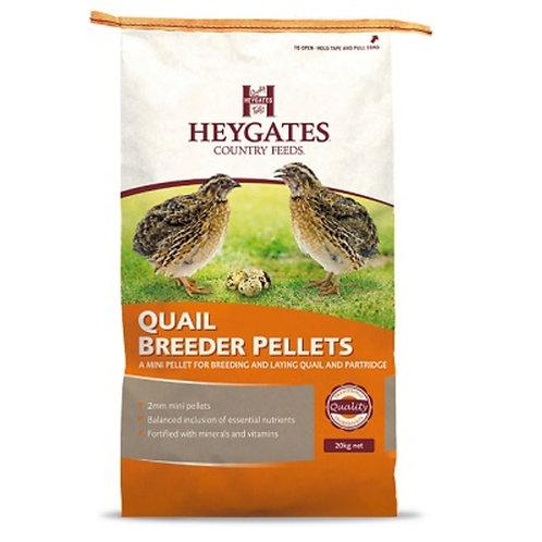 Heygates Quail & Partridge Layers Pellets 20kg