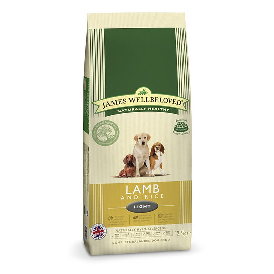 James Wellbeloved Dog Food Light Lamb and Rice