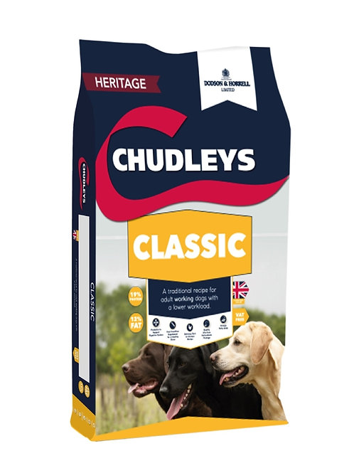 Chudleys Classic Dog Food 15kg