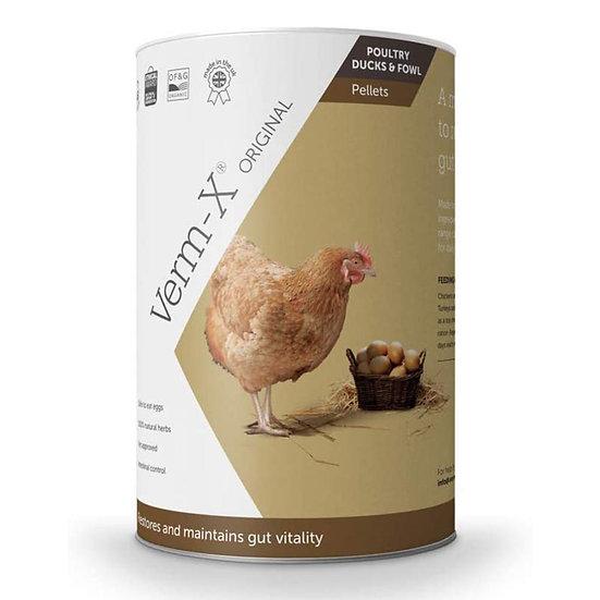 Verm-X Poultry Hen Herbal Parasite Repellent Pellets