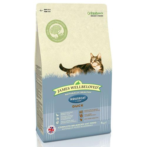 James Wellbeloved Cat Food Adult House Cat Food Duck 1.5kg