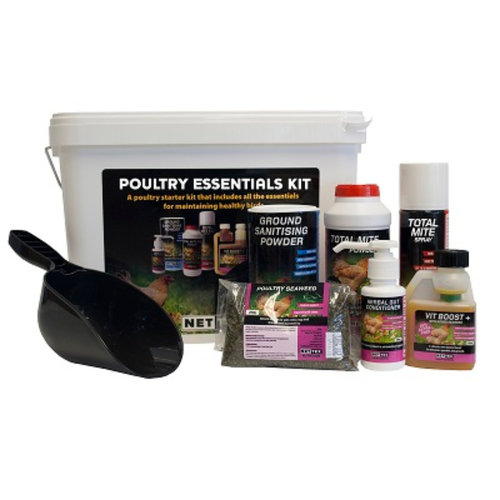 Poultry Essentials Kit for up to 8 Chickens