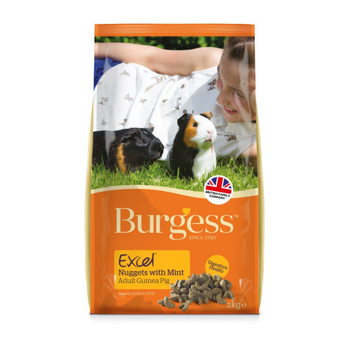 Burgess Excel Rabbit Light Nuggets 2kg
