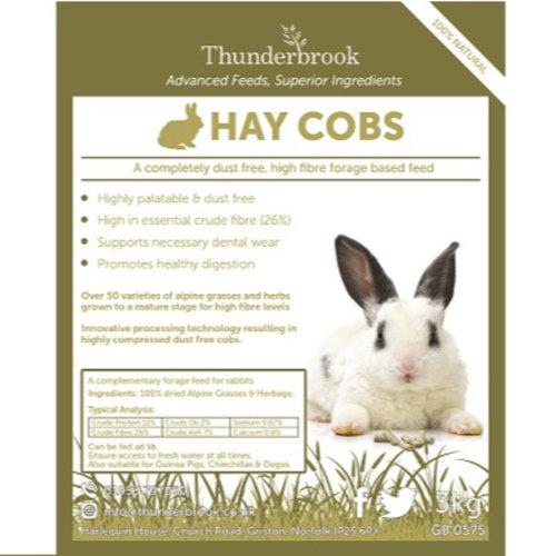 Thunderbrook Equestrian Rabbit Hay Cobs 3Kg