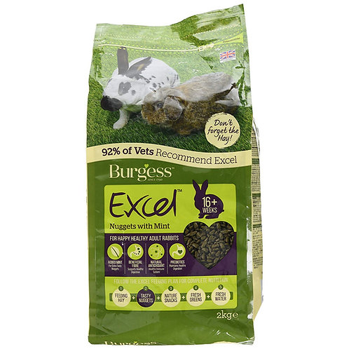Burgess Excel Rabbit Nuggets with Mint