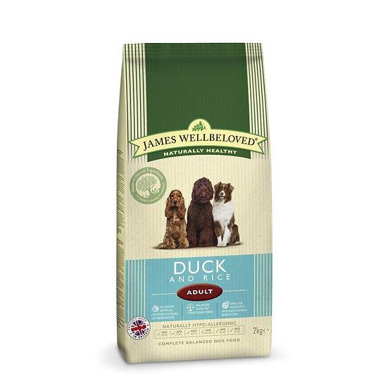 James Wellbeloved Dog Food Adult Duck & Rice 15kg