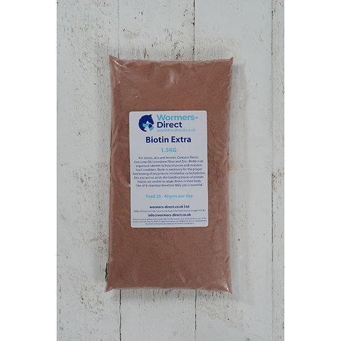 Biotin Extra For Horses 1.5kg Horse Herb Supplement
