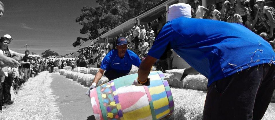 BOTRIVIER BARREL RACE – locals celebrate the art of barrel rolling