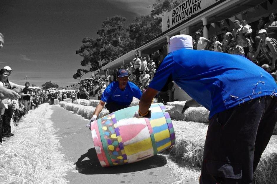 BOTRIVIER BARREL RACE – locals celebrate the art of barrel rolling