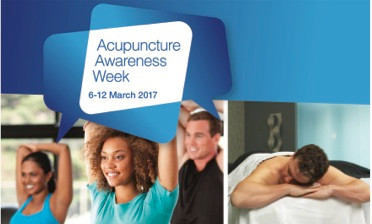 Acupuncture Awareness Week 6 – 12th March 2017