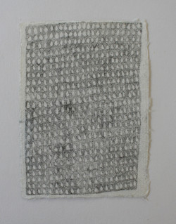 2018, pencil on paper, 8 x 11cm