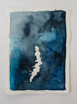 2018, watercolour on paper, 8 x 11cm