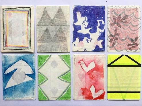 #playingcards #patterns #sets #markmaking #line #lines #saturdaymorning #studiotime #abstractart #contemporaryart #instart