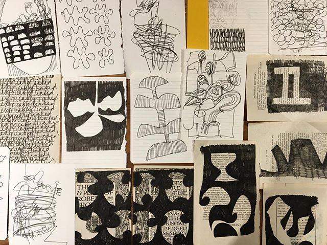 #doodling #doodles #markmaking #lines #line #pattern #studiotime #pendrawing #ideas #contemporaryart #instart