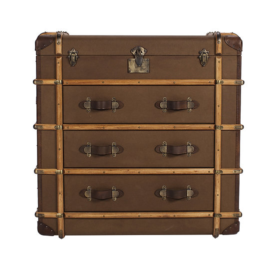 Canvas Chest of Drawer –RICHARDS' TRUNK