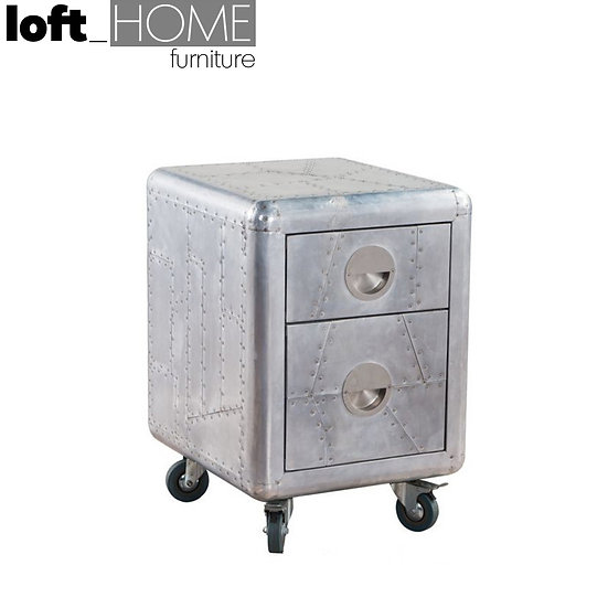 Aluminium Side Table – AIRCRAFT