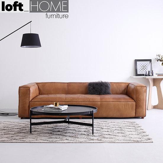 Full Genuine Leather Sofa – Antique Master