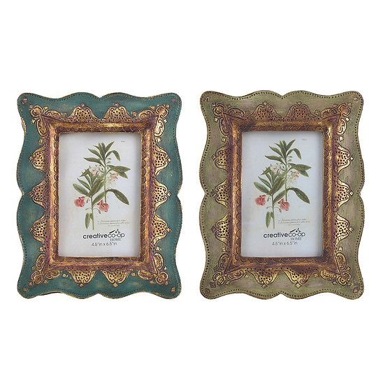 "4"" x 6"" Resin Arabian Photo Frame, 2 Styles"