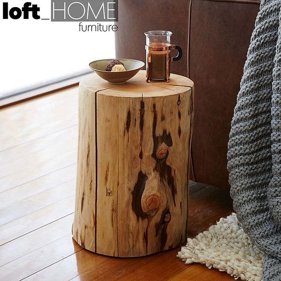 Vintage Wood Stool / Side Table – STUMP
