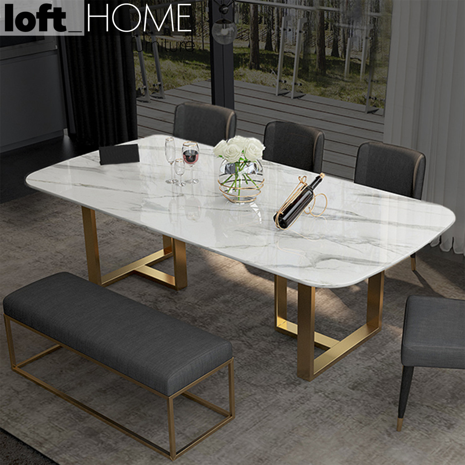 Picture of: Dining Table Joshua Lofthomefurniture
