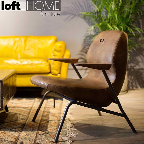 Genuine Leather Sofa Chair– SAND MASTER