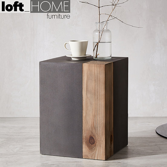 Concrete Side Table - RANK