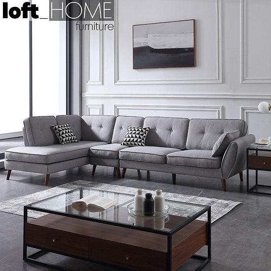 Fabric Sofa – Henri L Shape