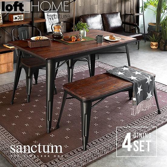 Dining Table Set – Sanctum X (4 pieces)