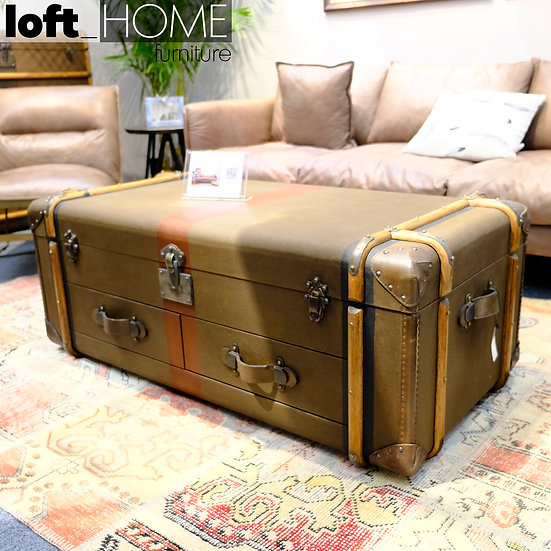 Canvas Coffee Table – RICHARDS' TRUNK