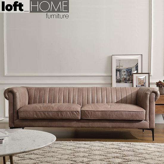 Genuine Leather Sofa – ELIS