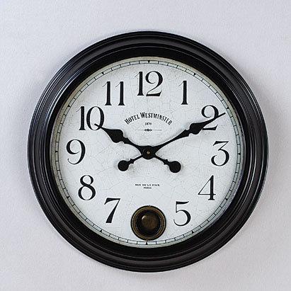 Metal Classic Wall Clock