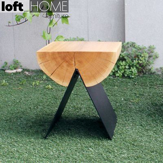 Solid Wood Stool – TIMBER
