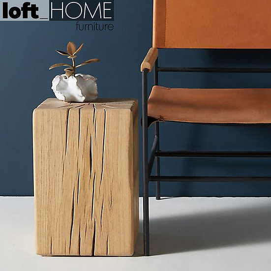 Wood Stool / Side Table – ROOT
