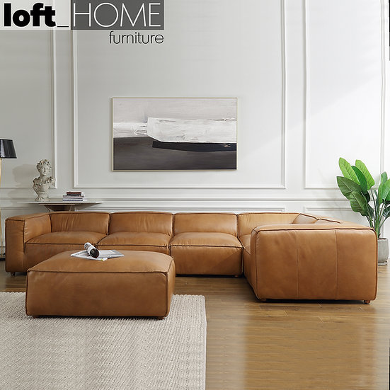Genuine Leather Sofa Set – ARMBREAD