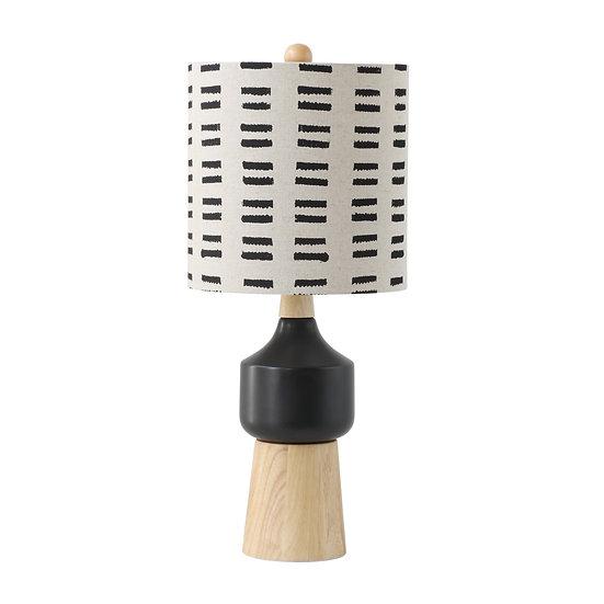 Table Lamp - Mudcloth Pattern Shade