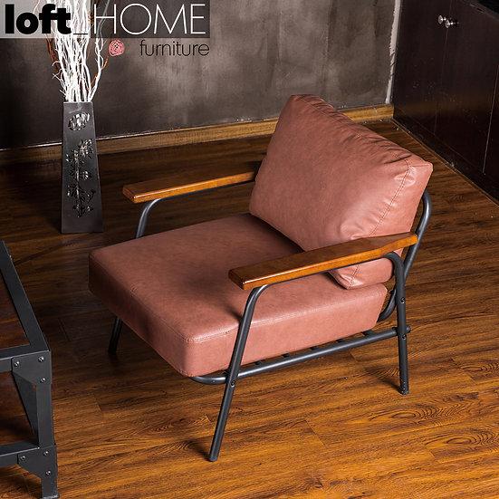 PU Leather Sofa – Sanctum Single Classic