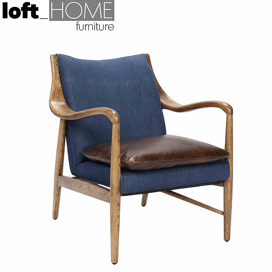 Jean & Leather Sofa – Single COWBOY
