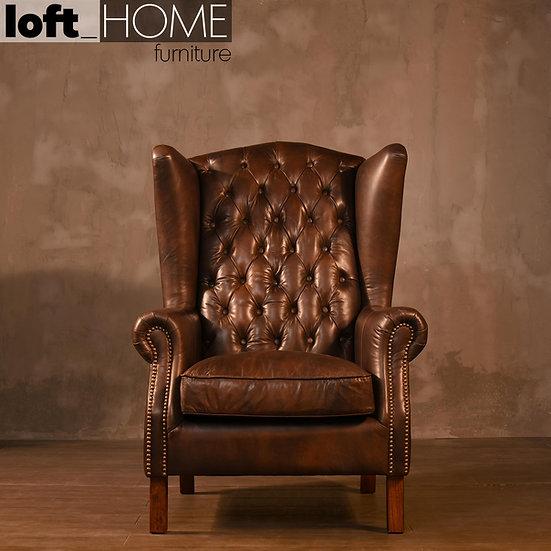 Full Genuine Leather Sofa – WING L