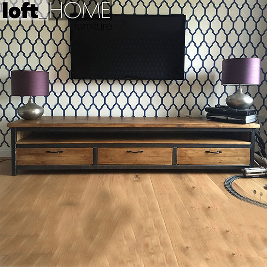 Solid Wood TV Console – Mysteel