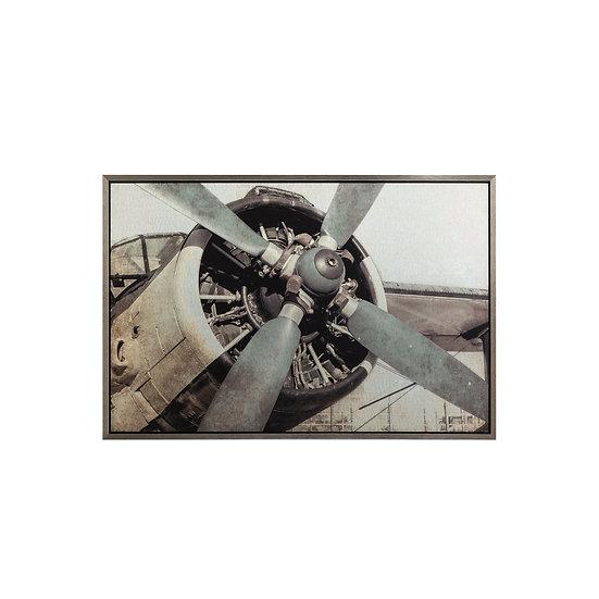 Aluminum Board Vintage Plane Wall Art