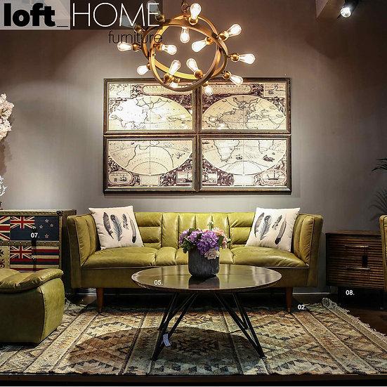 Full Genuine Leather Sofa – Lush