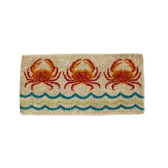 Natural Coir Crab Doormat