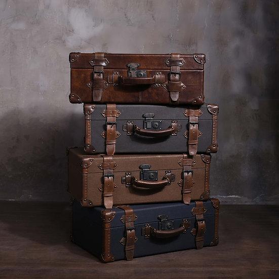 Canvas Suitcase / Trunk – 1920s