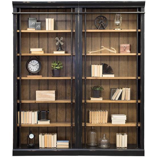 Solid Wood Bookshelf - MARTIN
