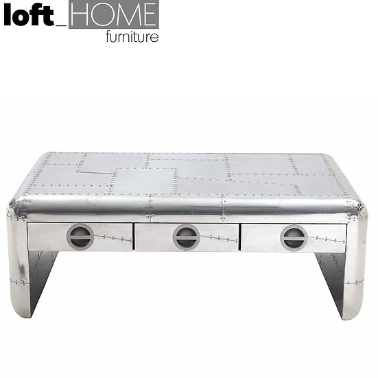 Aluminium Coffee Table – Aircraft