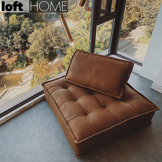 Genuine Leather Sofa - ELEMENT
